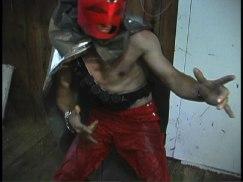 Movie Still - The Red Avenger!