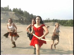 Movie Still - The Evil Princess leads the charge!